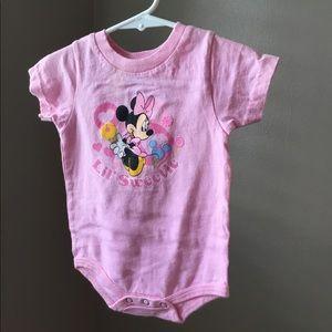 Minnie Mouse body suit